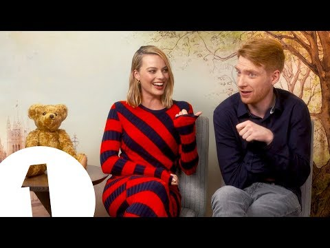 'Have you ever heard anything like it?!': Margot Robbie on Domhnall Gleeson's armpit farts