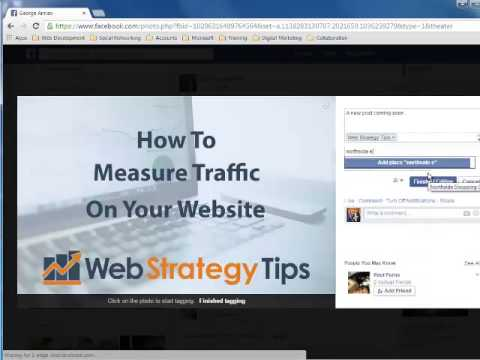 tagging business pages facebook