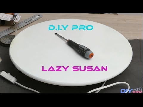 How to build a good Lazy Susan or motorize table