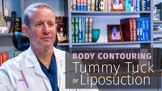 Tummy Tuck vs. Liposuction: Which Is Most Effective?