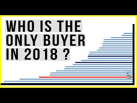 Who Are the ONLY Buyers Of U.S. Stocks in 2018? Single Buyer Keeping Market Afloat!