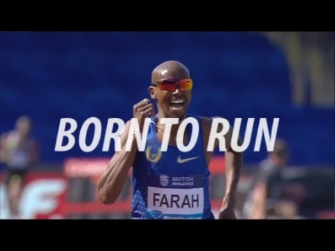 BORN TO RUN - Mo Farah, Caleb Ndiku Running Motivation