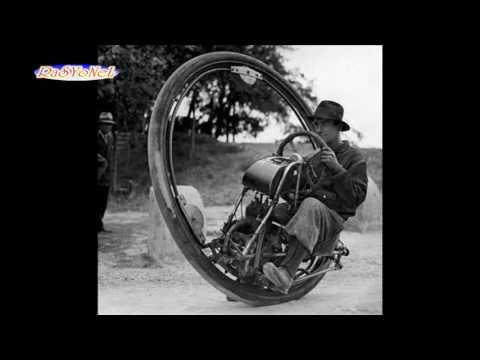 Tek tekerlekli motosiklet - Tarihteki ilginç icatlar 3