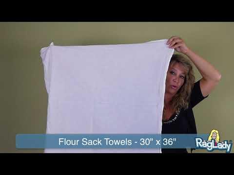 """flour-sack-towels-standard-weight---30""""-x-36"""""""