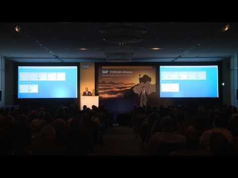 Manos Raptopoulos | SAP Forum Athens 2015