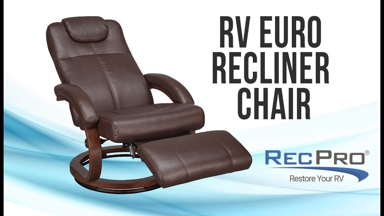 RV Euro Reclining Chair