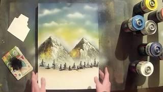 Spray Art Tutorial | Обучение рисованию баллончиками