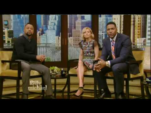 Cuba Gooding Jr. interview Live! With Kelly and Michael 02.01.2016
