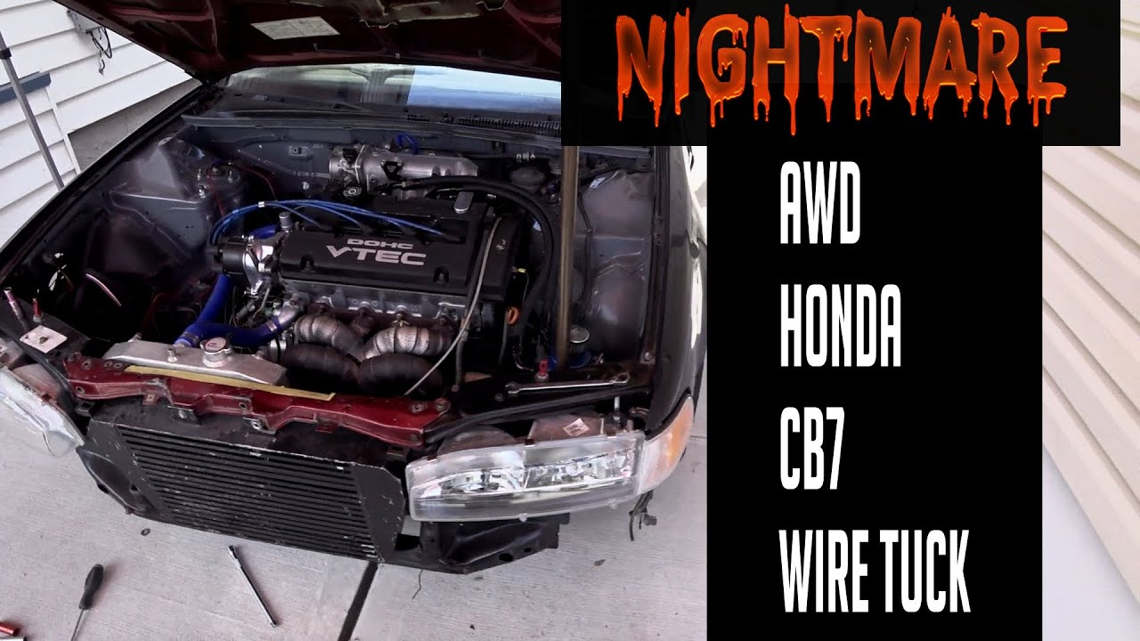 Download Accord CB7 fusebox relocation. How to do an wire tuck