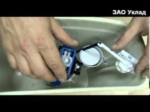 Видеоинструкция по установке арматуры для унитаза