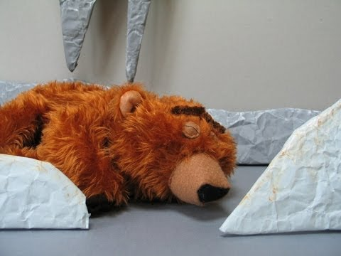 BEAR SNORES ON (Animated Version - Stop Motion)
