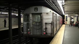 Rerouted R32 C Train Leaving Euclid Avenue To Relay (2012)