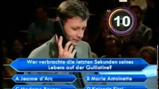Die Harald Schmidt Show -  Schmidt befragt Jauch, Harald Schmidt bei WWM Teil 1