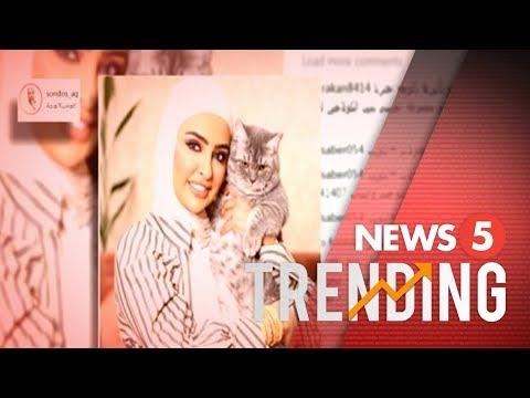 Social media influencer sa Kuwait, binanatan ng bashers
