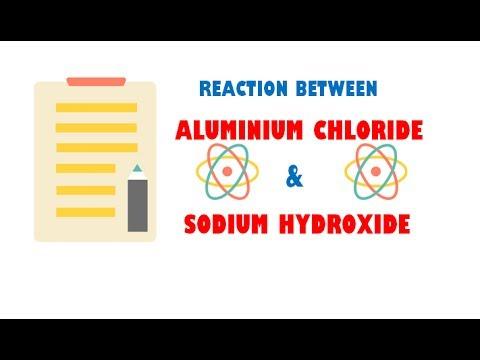 Aluminium Chloride And Sodium Hydroxide Reaction Youtube