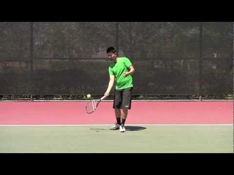 Modern Tennis Forehand: Lock & Roll Concept - YouTube