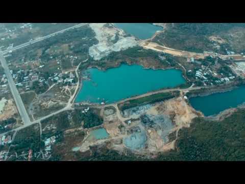 Núi Dinh - TP. Bà Rịa qua góc nhìn từ Flycam