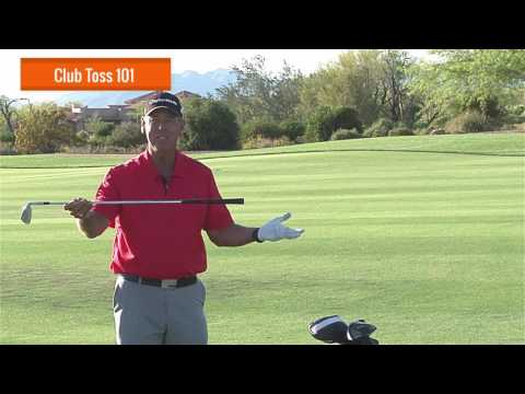 Malaska Golf – Club Toss 101 – Golf is frustrating. Throw your clubs with purpose.