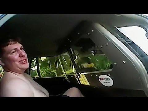 Drunk Half-Naked Cop Arrested After...
