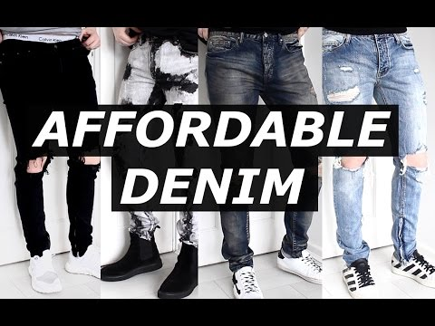AFFORDABLE DENIM | 2017 | MNML LA | Budget Haul, Alternative to FOG | Gallucks