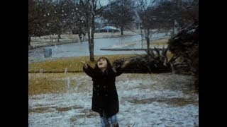 Snow in Houston & A Visit to the Galleria. 1973.