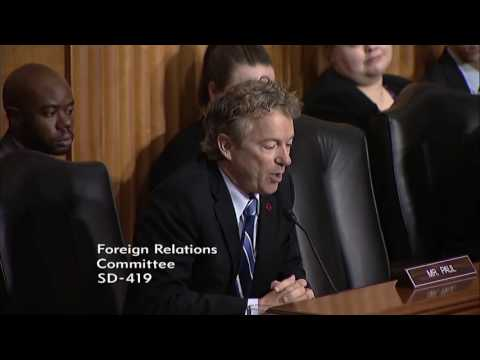 Rand Paul Slams the Senate on Boots on the Ground in Syria