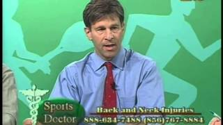 10/09/2003 Sports Doctor with Dr. Lawrence Deutsch on Back and Neck Injuries