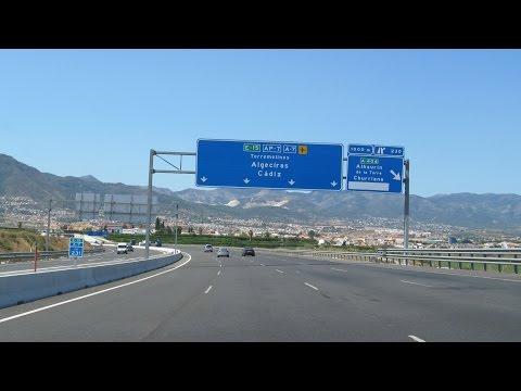 Spain: A-7 around Málaga