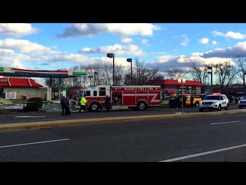 Plane Crash Chesterfield MO BP Gas Station