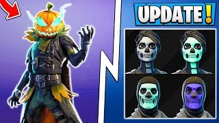 NEW FORTNITE SKIN HOLLOWHEAD (FORTNITE BATTLE ROYALE)