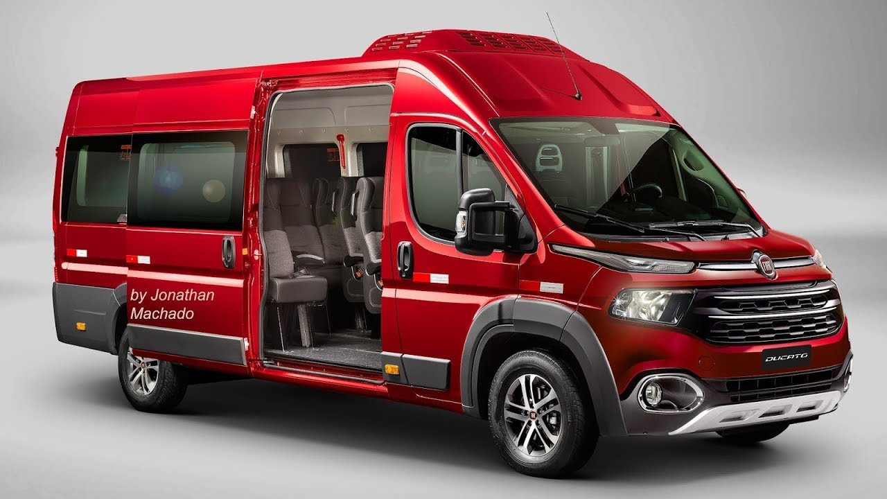 render fiat ducato 2020 facelift ducatoro toro van. Black Bedroom Furniture Sets. Home Design Ideas