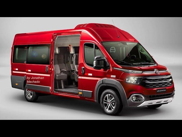 Render Fiat Ducato 2020 Facelift Ducatoro Toro Van