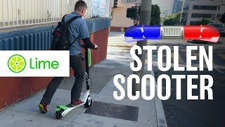 Dubai to San Francisco - We stole a LIME electric scooter