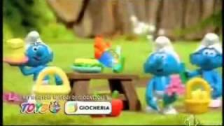 I Puffi - Pubblicità giocattoli (2009 - 2010)