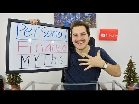 Top 5 Biggest Myths about Personal Finance!