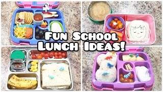 What I packed for School Lunch - Plus what she ate! - Week 6 -  Bella Boo's Lunches