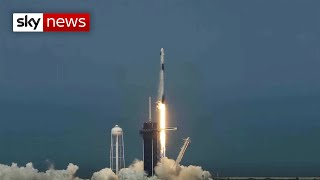 NASA and SpaceX successfully launch rocket carrying astronauts to ISS