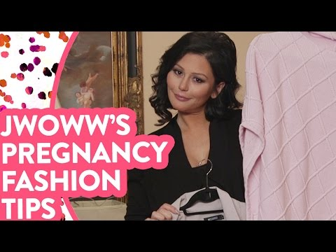 "Download Youtube: JWOWW's ""Non"" Maternity Outfits"