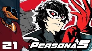 Let's Play Persona 5 [English] - PS4 Gameplay Part 21 - Gotta Get Gutsy!