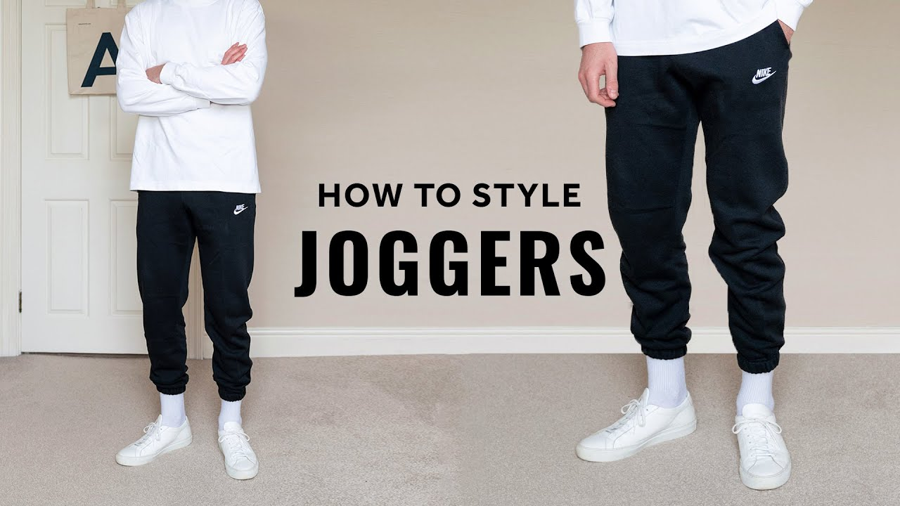 How To Style Joggers For Men
