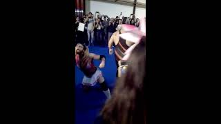 Impromptu match happened during Lady Beard concert at Iberanime, wh...