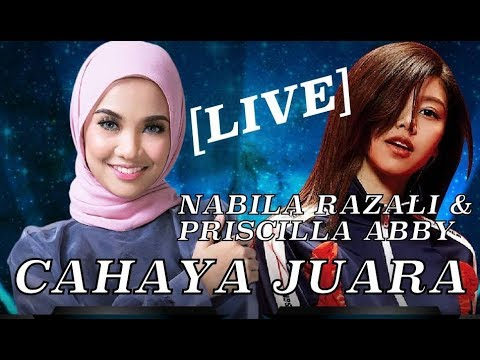 Nabila Razali Nyanyi Lagu Tema Filem LEE CHONG WEI - Cahaya Juara With Priscilla Abby