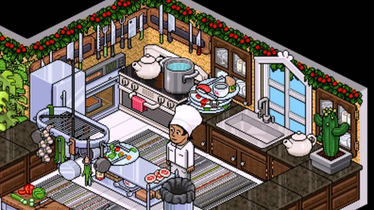 Programa de cocina habbo es by secon youtube for Habbo decoraciones