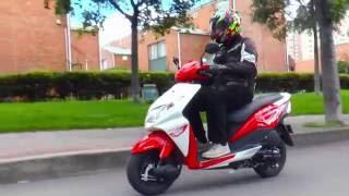 Prueba Scooter DIO 110 de HONDA