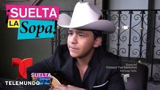 Suelta La Sopa   Christian Nodal aseguró no saber quién es Julián Figueroa   Entretenimiento