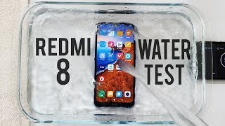 Redmi 8 Water Test! Actually Waterproof?