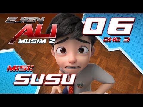 Ejen Ali - Musim 2 (EP06) - Misi : SUSU [Bahagian 3]