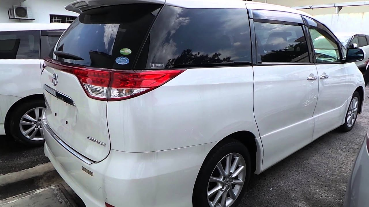 Cars For Sale in Malaysia TOYOTA ESTIMA AERAS 24  mudahcommy
