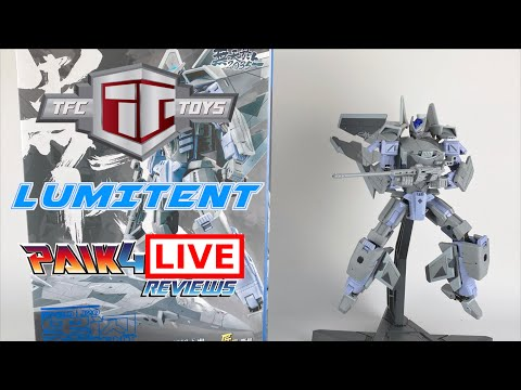 Livestream Review: TFC Toys SciFigure Industry J20 LUMITENT // P4L Reviews