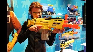 First Review: NERF Fortnite AR Toy Fair 2019